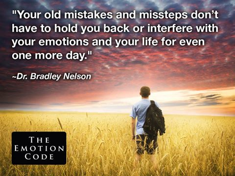 Your old mistakes and missteps
